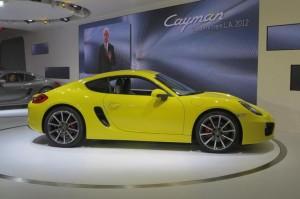 Новый Porsche Cayman