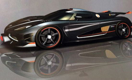 Koenigsegg One:1 - автомобиль с потрясающей удельной мощностью