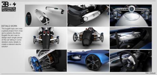 Одноместный Bugatti TypeZero