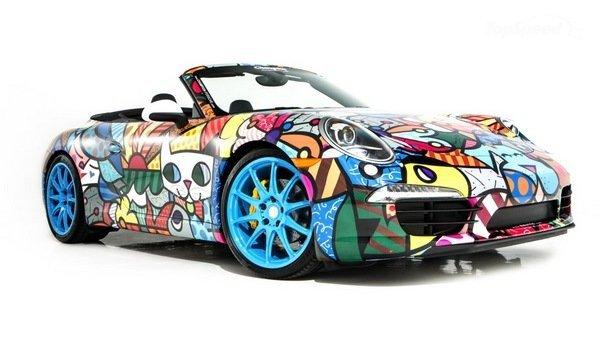 Кабриолет 2013 Porsche 911 тюнинг