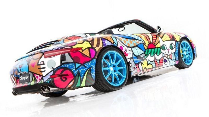Тюнингованная модель Кабриолет 2013 Porsche 911
