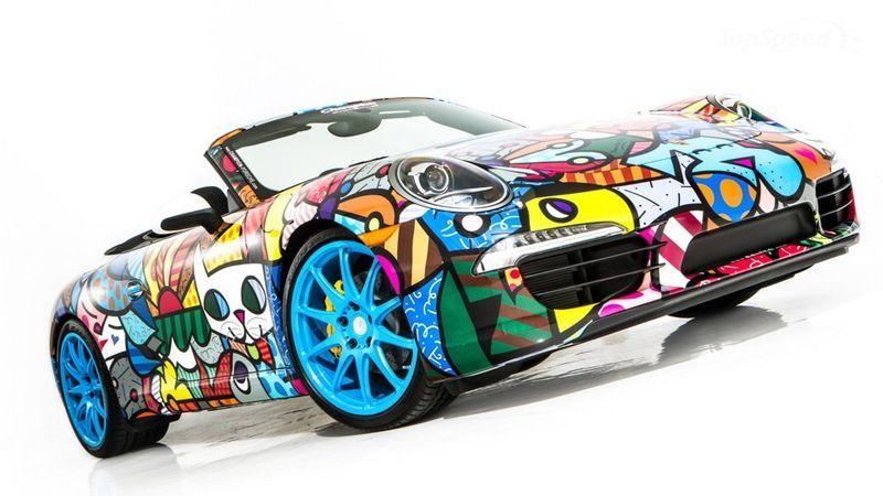 Кабриолет 2013 Porsche 911 для выставки