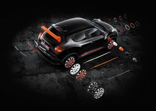 Nissan Juke новый пакет персонализации