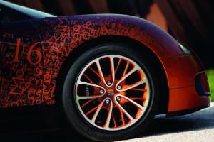 Тюнингованная модель от Bugatti - колесо