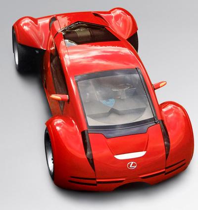 Футуристический Lexus 2054