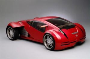 Lexus 2054 - участник фильма Особое мнение