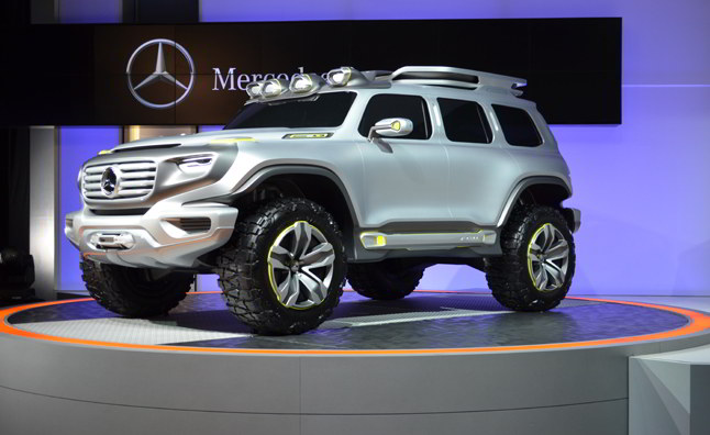 специально для полицейских в гражданской оболочке концепт Mercedes-benz-ener-g-force