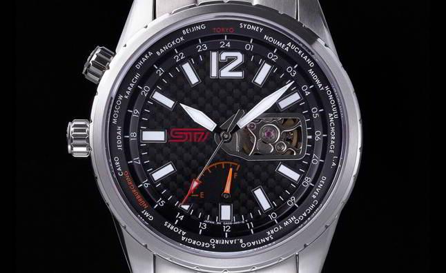 на токийском автосалоне 2013 дебютируют механические часы subaru