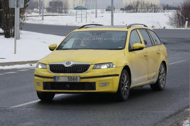 Octavia Combi RS