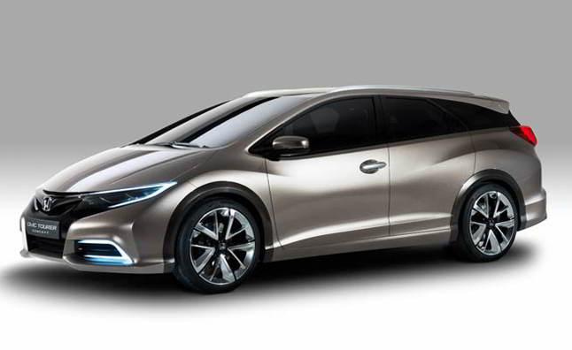 Концепт универсала Honda Civic Tourer