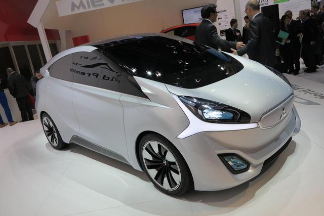 Концепт Mitsubishi CA-MiEV